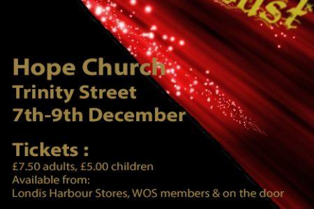 Christmas Stardust our annual Christmas show